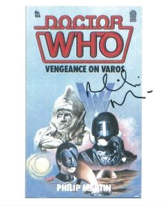 Philip Martin wrote the Doctor Who stories Vengeance on Varos and Mindwarp,  8414